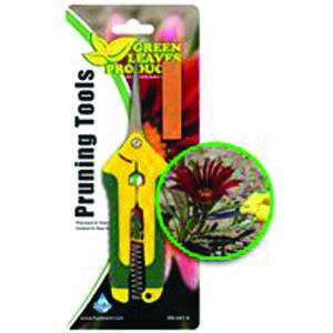 Labmor Yellow Curved Scissors