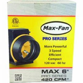 Max Fan Pro Series 6 inch