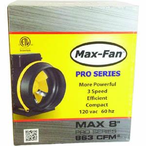Max Fan Pro Series 8 inch