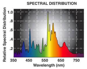 dual ams 1000 watt spectral chart