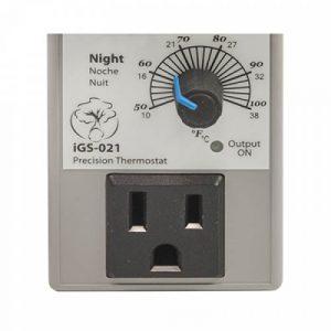 day night temp controller close up
