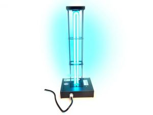 Deluxe Germ Away UV 95 Watt UVC Surface Sanitizer with Cage