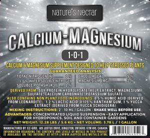 Nature's Nectar Calcium Magnesium