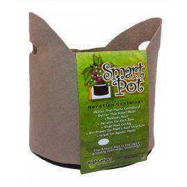 tan smart pot with handles 5 gallons