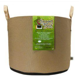 tan smart pot with handles 15 gallons