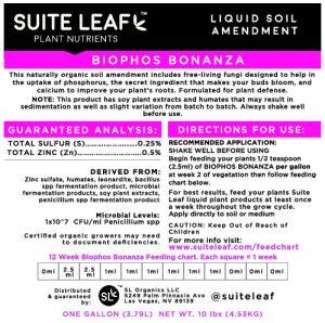 biophos bonanza label