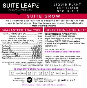 suite grow label