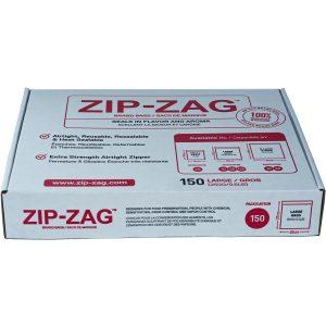 Zip Zag Bag Large 150 pack (1/2 lb)
