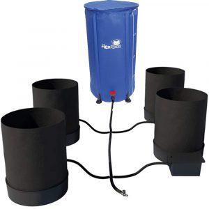 spring pot 4 pot system 25 gal flexi tank